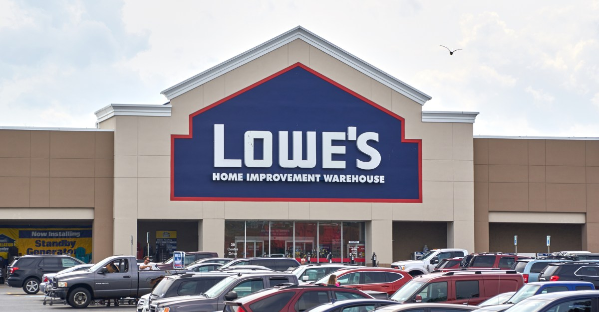 $100 Lowe's gift card for $90 at Newegg
