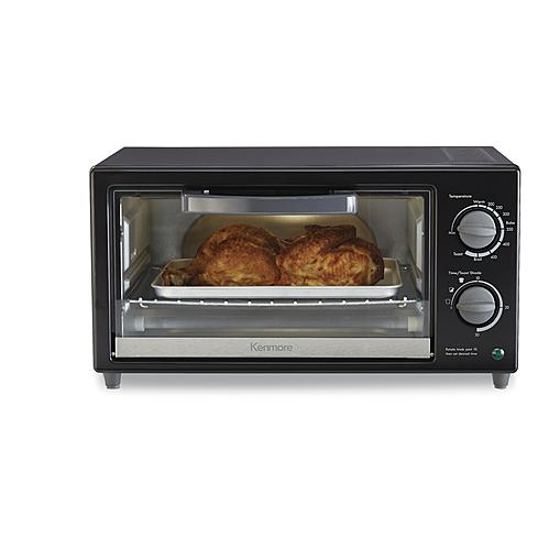 Kenmore 4-slice toaster oven for $25