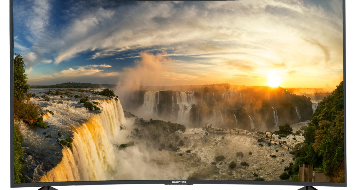 65″ 4k curved LED 4K TV for $450, free shipping