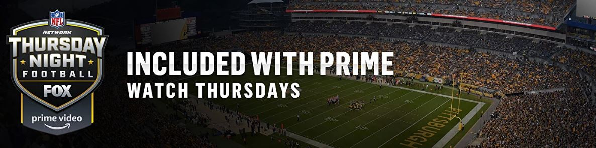 Prime members: Stream select Thursday night NFL football games FREE!