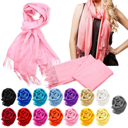 Women's cashmere blend scarf from $5, free shipping