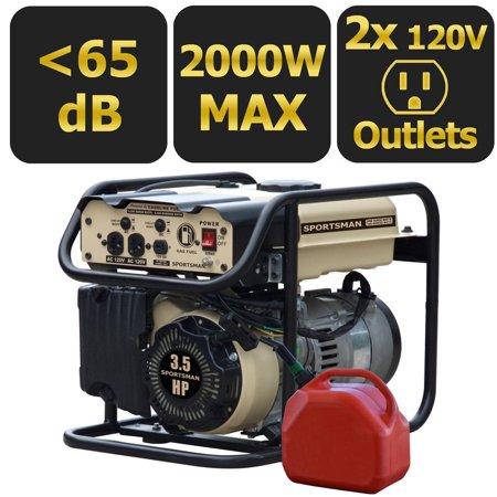 Sportsman gasoline 2000W portable generator for $149
