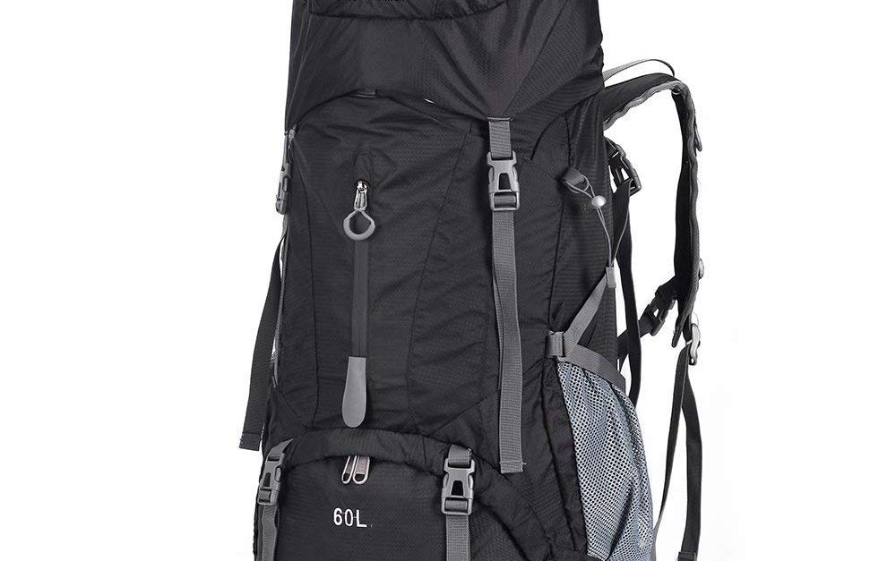 OutdoorMaster 60L waterproof hiking backpack for $21