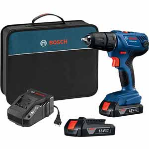 Today only: Bosch 18V drill/driver kit with 2 batteries for $75, free shipping