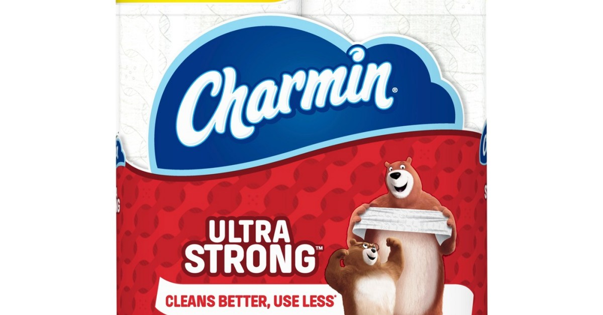 Buy 3 Charmin Mega Plus 8-count toilet paper for $10 each and get a FREE $10 gift card