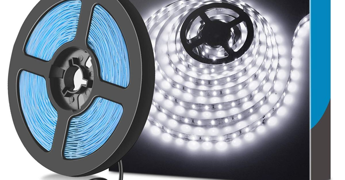 Dimmable LED light strip kit for $9
