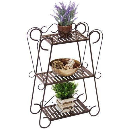 3-shelf multifunctional plant stand for $34