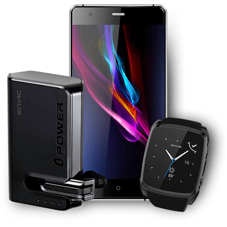 Today only: Envic unlocked Android phone & smartwatch bundle for $104, shipped