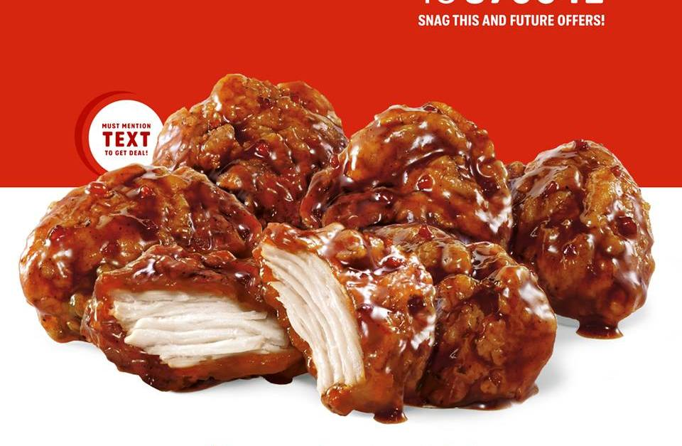 Today only: Enjoy half-price wings at Sonic Drive-In