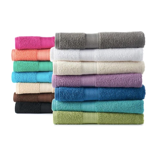 The Big One solid bath towels for $3.39 with code