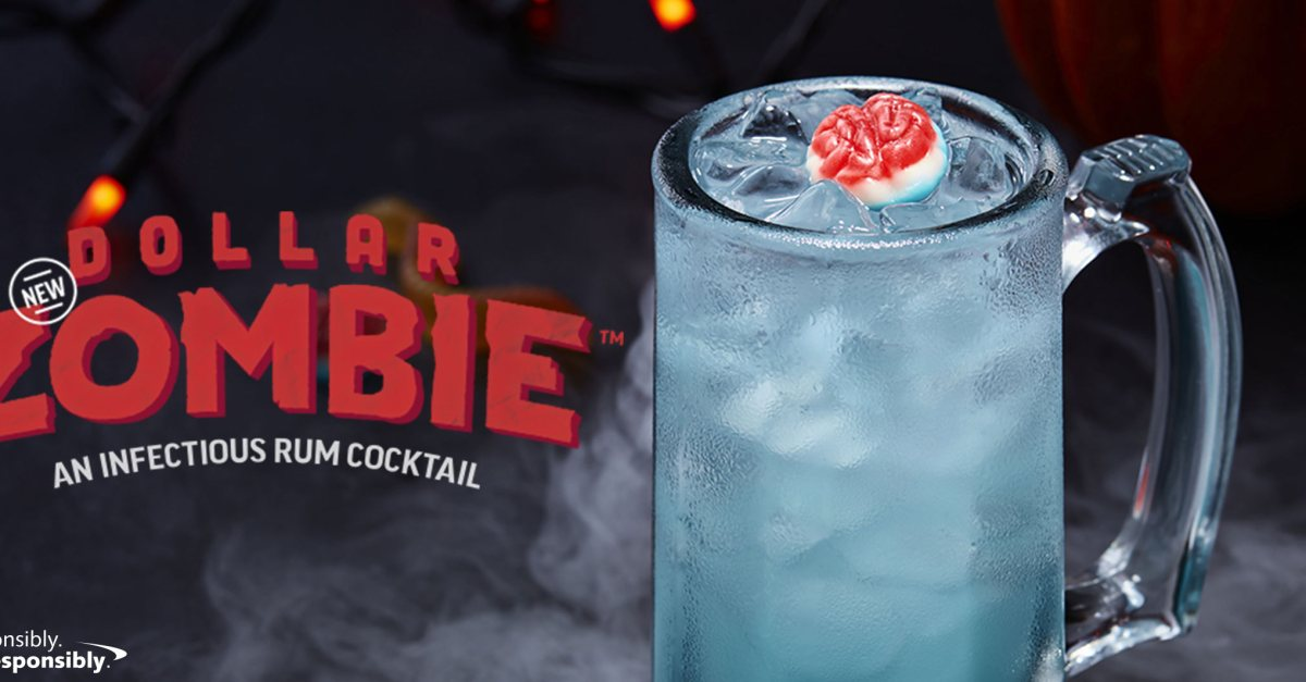 Celebrate October with $1 Zombie cocktails at Applebee's!