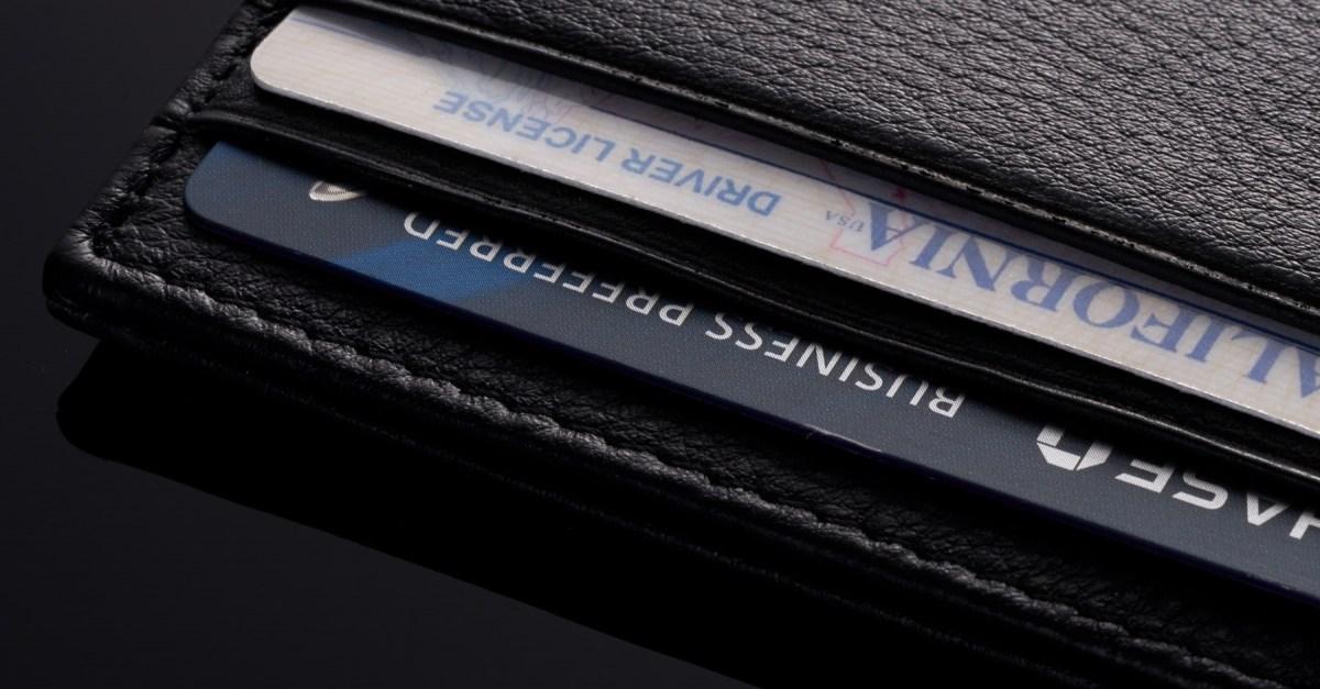 Alpine Swiss men's RFID-blocking minimalist leather wallet for $4