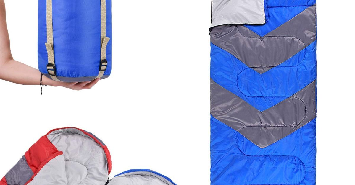 Abco Tech sleeping bag with hood for $20