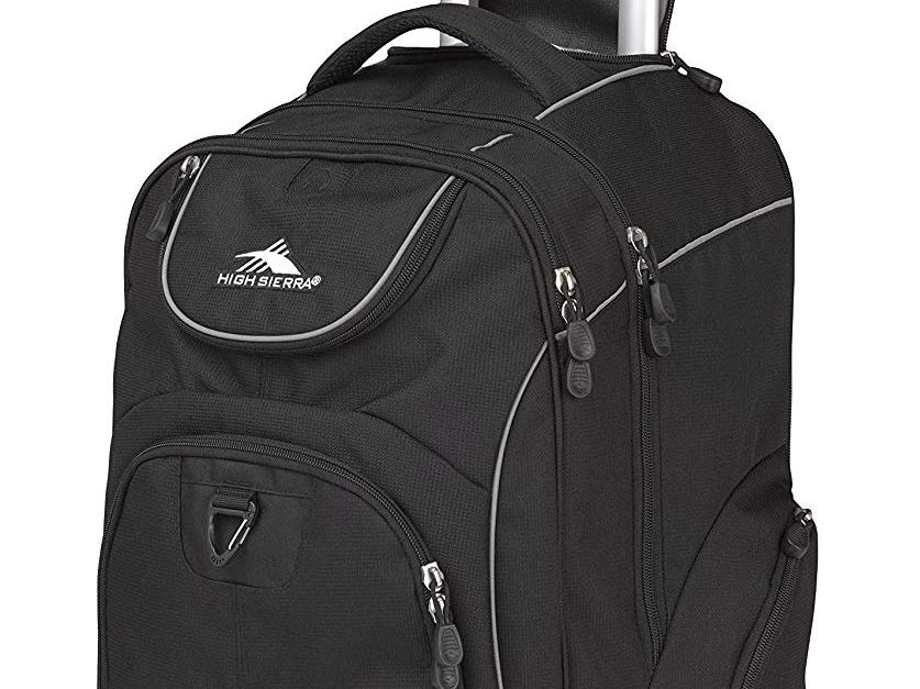 High Sierra Powerglide wheeled laptop backpack for $39