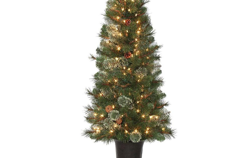 Today only: Artificial Christmas trees from $53 at The Home Depot
