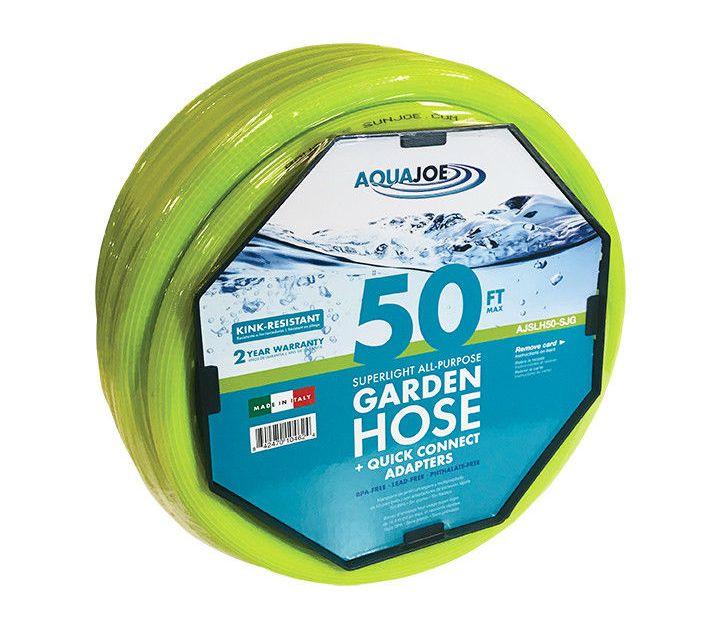 50-foot Sun Joe superlight kink-free hose for $9