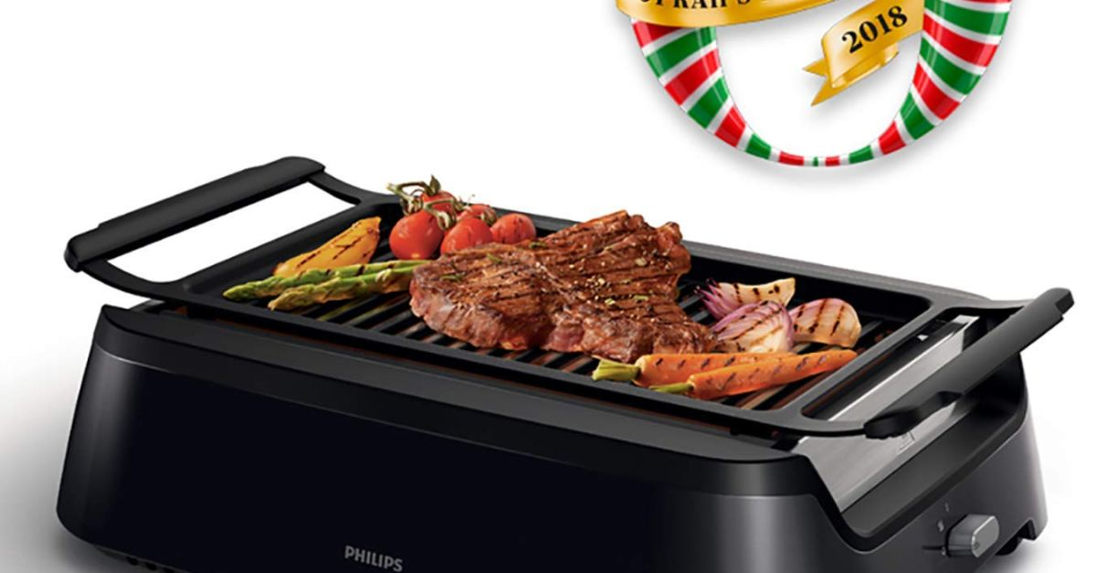 Today only: Philips indoor smoke-less grill for $150