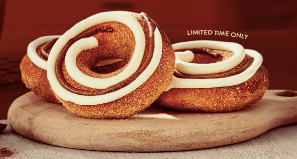 Krispy Kreme: FREE Cinnamon Swirl doughnut with purchase on November 13