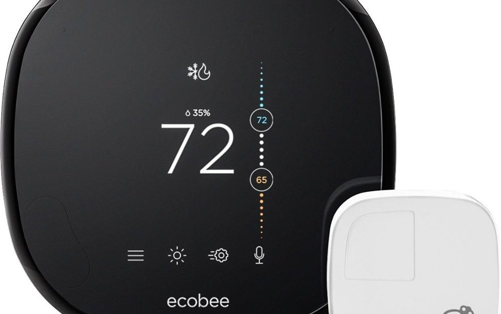 Ecobee4 smart Wi-Fi thermostat + Amazon Echo Dot for $199