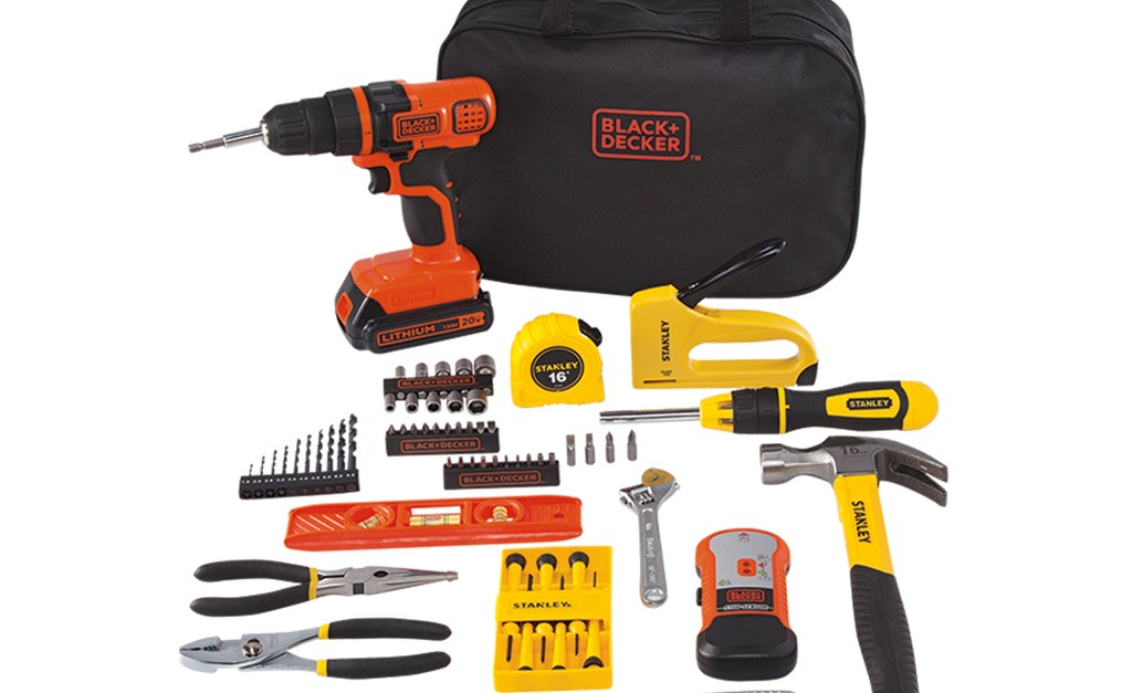 Stanley Black+Decker 20-volt MAX 85-piece drill kit for $49