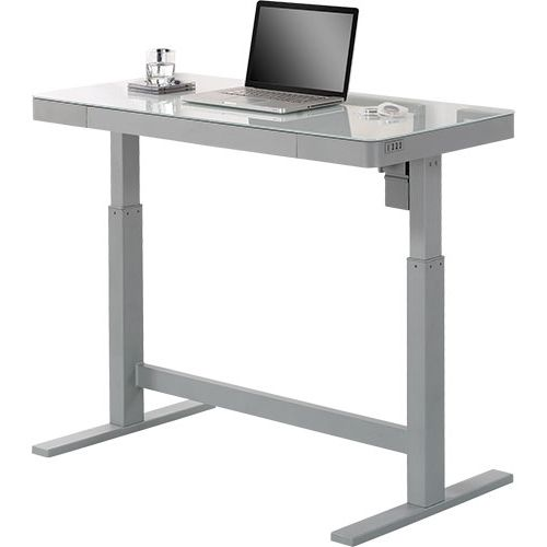 tresanti adjustable height desk for 270 costco only clark deals rh clarkdeals com