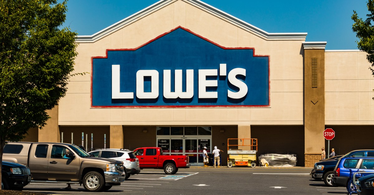 Lowe's $50 digital gift card only $45 on Newegg Flash