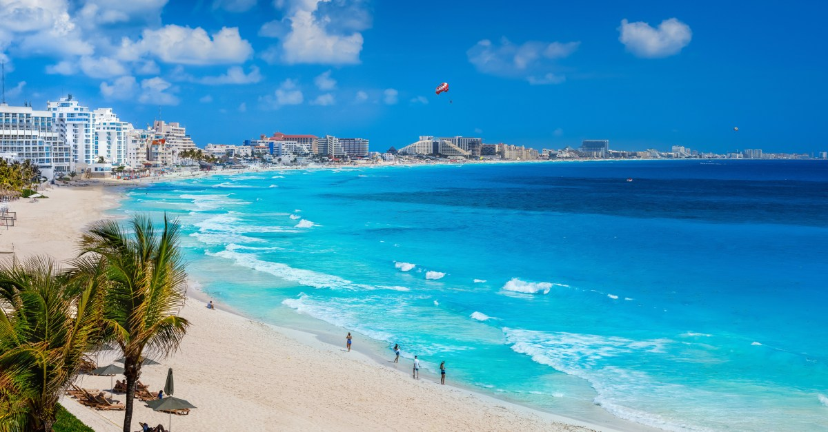 Flights to Cancun in the $100s to $200s round-trip!