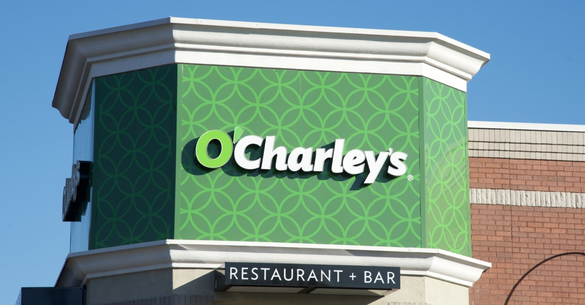 Veterans get a FREE entrée from O'Charley's today!