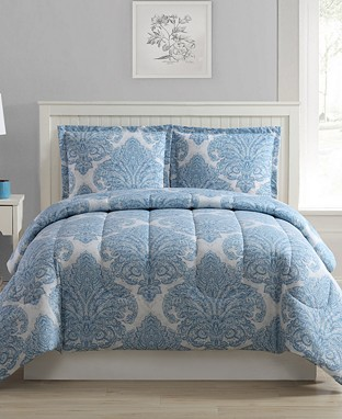  Any-size 3-piece comforter set for $20 at Macy's