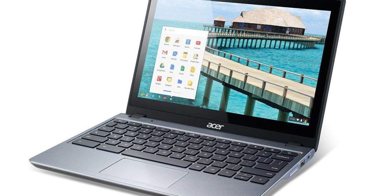 Refurbished 11.6″ Acer Chromebook Touch for $89