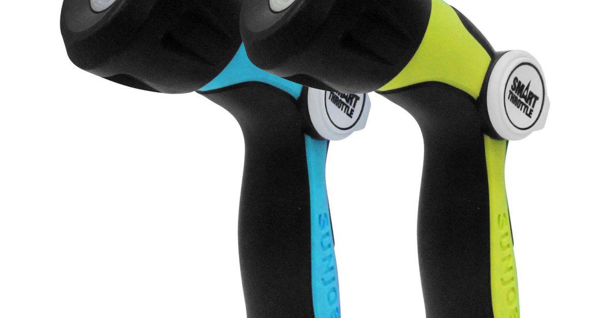 2-pack Aqua Joe adjustable hose nozzles for $5