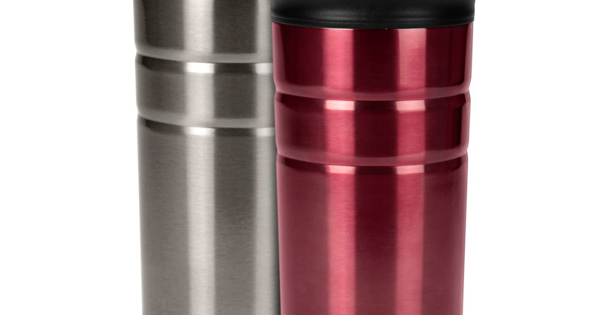 2-pack Contigo Bueno 12oz vacuum-insulated stainless steel travel mugs for $8