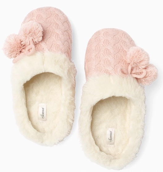 Soma: Get a FREE pair of slippers with any full price sleep purchase