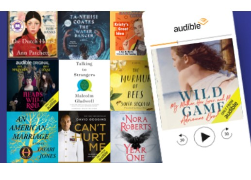 Audible members: Finish 3 titles and earn a $20 Amazon credit