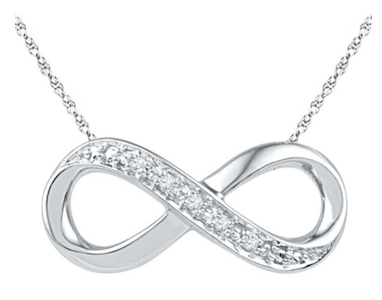 Diamond accent necklaces for $30