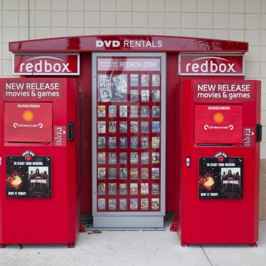 FREE Redbox 1-night movie rental with Redbox Perks