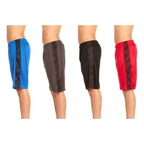 4-pack men's athletic performance shorts for $24, free shipping