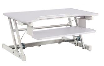 Factory Direct standing desk riser for $76