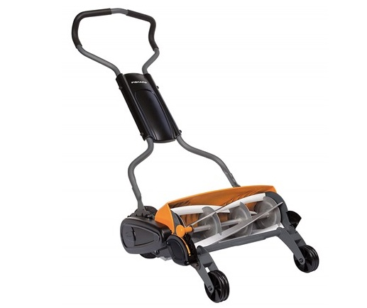 Today only: Fiskars 18″ StaySharp max reel mower for $150