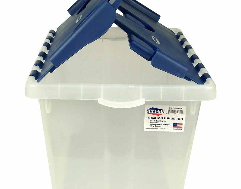 Today only: 14-gallon storage bin for $6, free store pickup