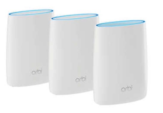 Netgear Orbi AC3000 Tri-band Wi-Fi system for $340