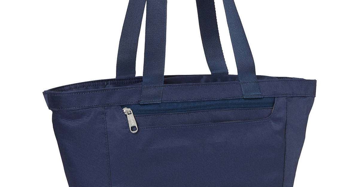 Metro Tote with RFID security for $21