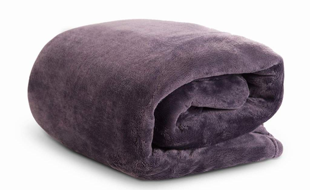 Lightweight velvet plush throw for $11, free shipping