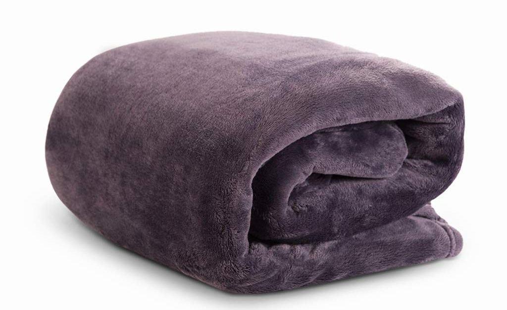 Lightweight velvet plush throw for $11, free shipping