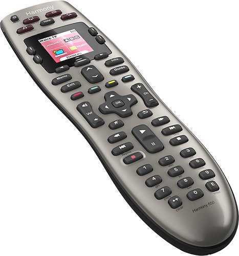 Logitech Harmony 650 8-device universal remote for $35