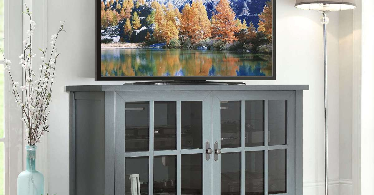 Better Homes and Gardens Oxford Square TV console for $139