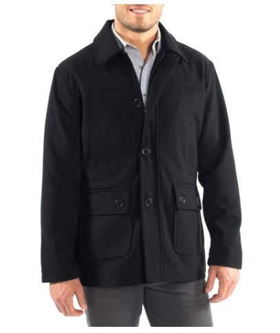 Alpine Swiss Wyatt men's coat for $20, free shipping