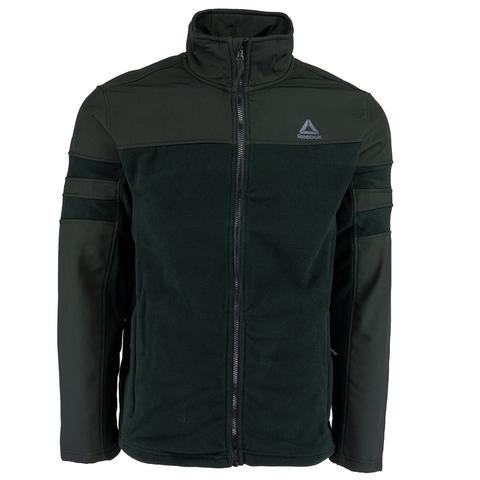 Reebok men's active Polar fleece jacket from $26 shipped