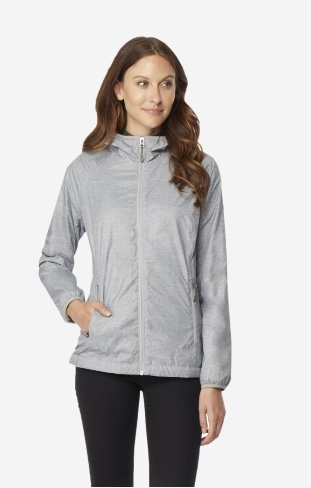 32 Degrees women's fleece-lined windbreaker for $20, free shipping