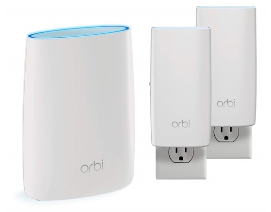 Today only: Netgear Orbi wall-plug whole home mesh Wi-Fi system for $290